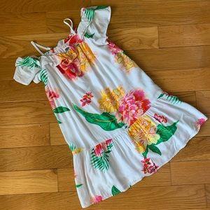 VGUC girls 6-7 Old Navy tropical dress